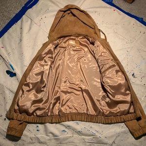 Golden Suede Jacket